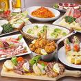 専門店の味が和・洋楽しめるコースなど、人気メニューも豊富に取り揃えております!ご予約受付中◎
