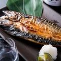 料理メニュー写真福島県産 伴助鯖 (一尾)