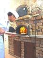 料理メニュー写真季節のピザ