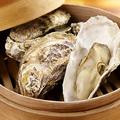 料理メニュー写真牡蠣のセイロ蒸し(2個)