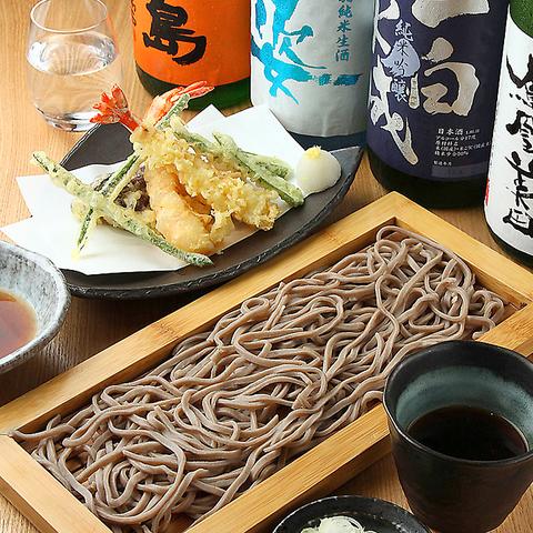 【日本酒の種類豊富!】蕎麦は勿論、食材や調理方法にもこだわった東京流蕎麦居酒屋☆