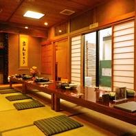 秋田でのちょっと人数の多い会社宴会や同窓会等に最適◎