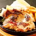 料理メニュー写真鶏もも肉の壱枚焼き