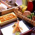 料理メニュー写真夜の天ぷらづくし「八坂」