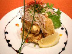 豚の角煮天ぷら
