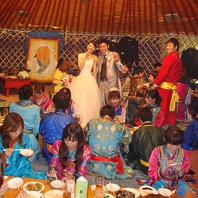 お店全体での結婚式2次会!