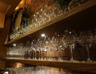 ワインに合わせたグラス選び、温度調節。