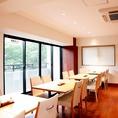 【2階席】10~16名様で個室風にできるお席ございます。