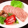 【和牛シャトーブリアン】ヒレ肉の中でも特に肉質のよい真ん中の部分をシャトーブリアンと言います。