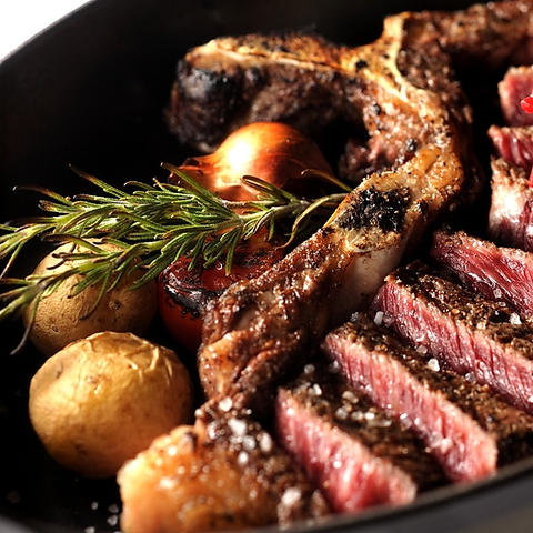 「和牛」「熟成」「火入れ」の要素を徹底してこだわった極上のステーキ