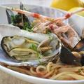 料理メニュー写真魚介たっぷり!贅沢トマトパスタ