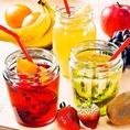 梅酒・果実酒も豊富にご用意♪女子会にも人気な100種超えの飲み放題あります!