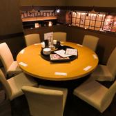 落ち着いた雰囲気の半個室は女子会や気が置けない仲間との飲み会にぴったり★