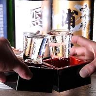 焼酎・日本酒など種類豊富なドリンクをご用意♪