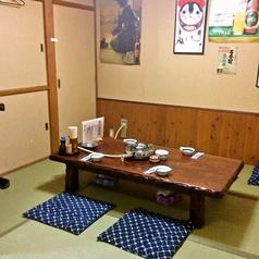 ご家族でのお食事やお仲間とのご宴会にも便利なお座敷個室。