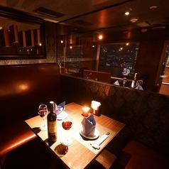 【2名様用のVIP個室】カップルとのお食事に・・・。※ルームチャージ1,000円/室
