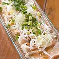 料理メニュー写真九州産 鶏胸肉のカルパッチョ