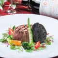 料理メニュー写真国産牛フィレステーキ(100g)