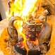 本格炉端焼き!名物料理「原始焼き」をご賞味ください。