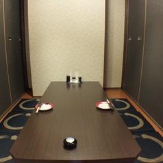 2~8名テーブル個室席