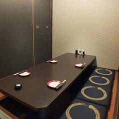 4~6名掘りごたつ個室席