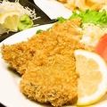 料理メニュー写真海老フライ/鯵フライ/キスフライ