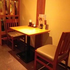 2名様用テーブル席です。