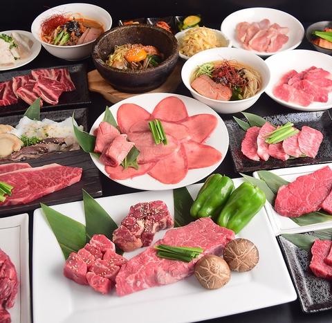 【一宮/木曽川】焼肉/食べ放題/上カルビ/ねぎ塩タン