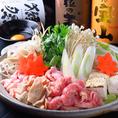 【冬季限定】宴会コースは3種類のお鍋からお選びいただけます。(4500円は2種類)