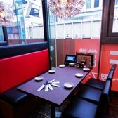 【テーブル:6名】テーブル席はご家族でのお食事や会社の飲み会、デートなどにおすすめ◎さまざまなシーンに合わせてご利用いただけます!