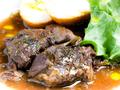 料理メニュー写真国産牛スネ肉の赤ワイン煮