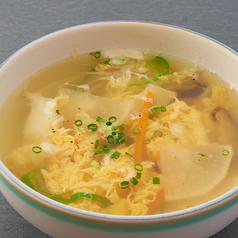 ワカメスープ/玉子スープ/野菜スープ