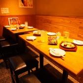 宴会に◎ゆったりとしたテーブル席。