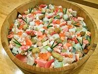 彩鮮やか♪贅沢な食材が詰まったちらし寿司