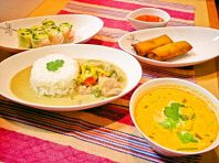 本格家庭タイ料理を・・・