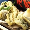 料理メニュー写真広島名物穴子の天婦羅