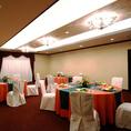 【完全個室:オーロラ】7名様~最大35名様までOKランチ会や、ご宴会、会議等におすすめです。