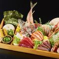 料理メニュー写真刺身大漁盛り 特大(4~6人前) ※人数に合わせて承ります。