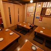 お座敷の個室はご宴会や歓送迎会に最適な空間です。ご予約の際お問い合わせください。10名様~18名様でご利用いただけます