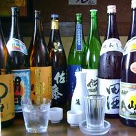 日本酒・焼酎も充実の品揃え!