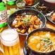 本場の韓国家庭料理を60種類以上ご用意♪