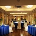 【完全個室:エメラルド】20名様~最大50名様までOK結婚式や謝恩会、大型のご宴会スペースにおすすめです。