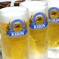 ビールはキリン一番搾り★キンキン冷え!!