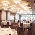 【完全個室:ダイヤモンド】30名様~最大120名様までOK結婚式や謝恩会、大型のご宴会スペースにおすすめです。個室料金等ございませんので、お気軽に貸切ご宴会をお楽しみ頂けます