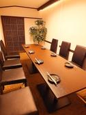 5名様~9名様・12名様までご利用頂ける人気の個室は予約必須です!記念日・誕生日・顔合わせにもおすすめです。