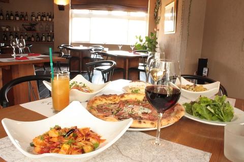 本格イタリアンを楽しめるお洒落レストラン