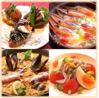 各種ご宴会で楽しめる本場のスペイン料理♪