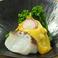 料理メニュー写真地タコと菜の花のカラシ酢味噌掛け