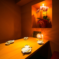 ◆扉付き和洋モダン個室◆完全個室プライベート空間!