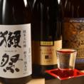 【全国の厳選日本酒】各種ご用意しております。